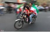 جشن و شادی مردم پس از صعود ایران به جام جهانی / عکس(۱)