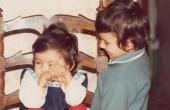دعوای پرستو صالحی و برادرش / عکس