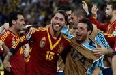 شکست ایتالیا مقابل اسپانیا در ضربات پنالتی