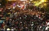 شادی مردم تهران پس از اعلام نتایج انتخابات ریاست جمهوری/عکس