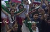 تصاویر تماشاگران بازی ایران و ایتالیا که سانسور نشد! / عکس