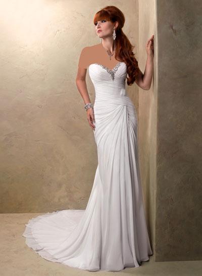 mo8348 مدل جدید و بسیار زیبا لباس عروس 2013