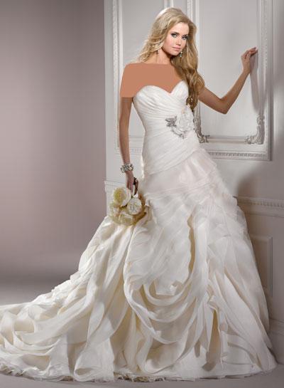 mo8351 مدل جدید و بسیار زیبا لباس عروس 2013