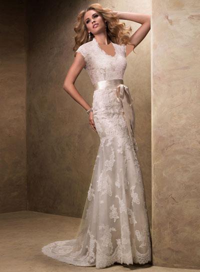 mo8353 مدل جدید و بسیار زیبا لباس عروس 2013