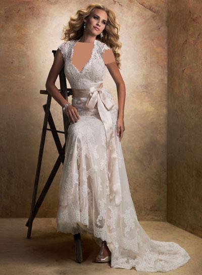 mo8354 مدل جدید و بسیار زیبا لباس عروس 2013