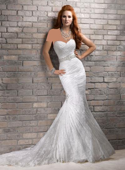 mo8355 مدل جدید و بسیار زیبا لباس عروس 2013