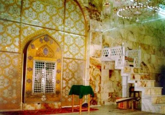 185630 798 محل ضربت خوردن حضرت علی(ع)/ عکس