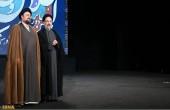 حضور خاتمی و سیدحسن خمینی در برج میلاد /عکس