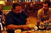 افطاری شهاب حسینی و رضا صادقی / عکس