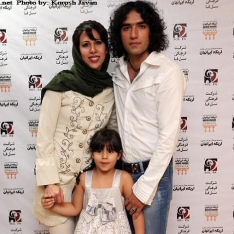 Khanande Irani3 TafrihKade.com  خوانندگان ایرانی و همسرانشان / عکس