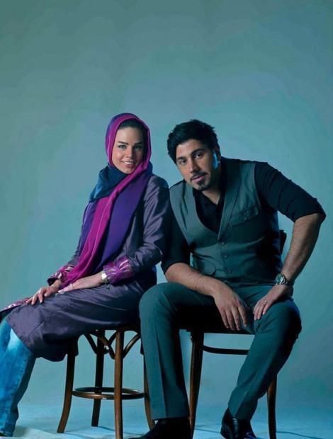 Khanande Irani4 TafrihKade.com  خوانندگان ایرانی و همسرانشان / عکس