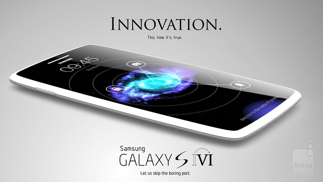 1 Awesome Galaxy S VI concept skips a generation hints at where Samsung should head after the S IV Galaxy S5 با دوربین ۱۶ مگاپیکسلی می آید !!