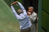 ورزش صبحگاهی در مجلس/عکس