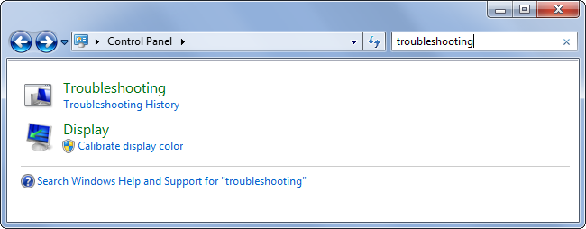 access troubleshooters in windows71 چگونه کارایی باتری لپ تاپ را افزایش دهیم ؟؟