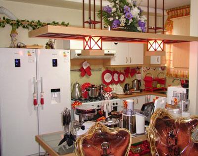 hou5034 تزیین آشپزخانه عروس