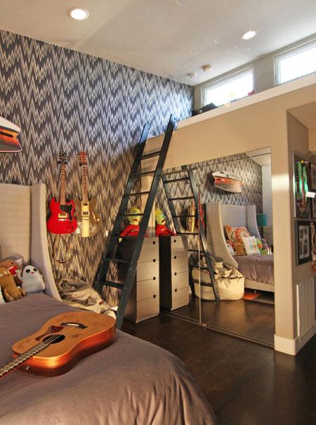 mo9002 مدل جدید دکوراسیون اتاق کودکان و نوجوانان