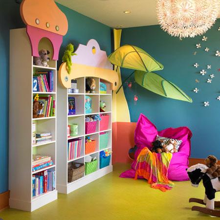 mo9005 مدل جدید دکوراسیون اتاق کودکان و نوجوانان