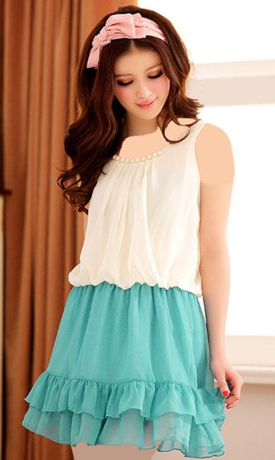 پیراهن لمه کوتاه مدل پیراهن های کوتاه تابستانی