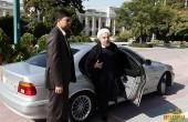 ماشینی که روحانی را به مجلس برد / عکس