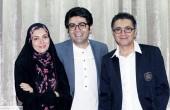 عکس های جدید فرزاد حسنی و همسرش آزاده نامداری