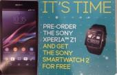 با خرید یک سونی Z1 یک ساعت هوشمند سونی ۲ هدیه بگیرید
