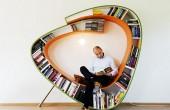 کتابخانه منحصر به فرد و مدرن