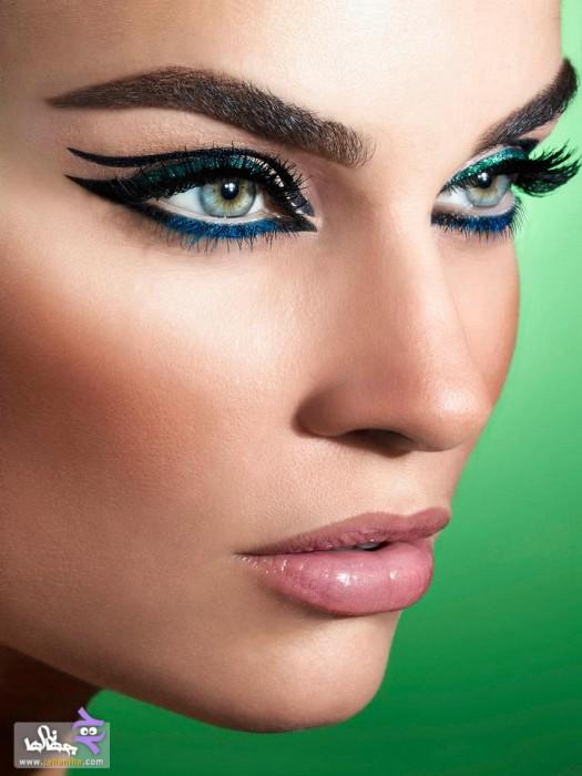 هانیه توسلی در  مدل آرایش و گریم صورت ۲۰۱۳ · جدید 97 -گهر