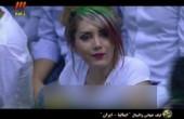 آملیا اسدی تماشاگر زن معروف بازی والیبال ایران و ایتالیا مدل لباس شد؟ / عکس
