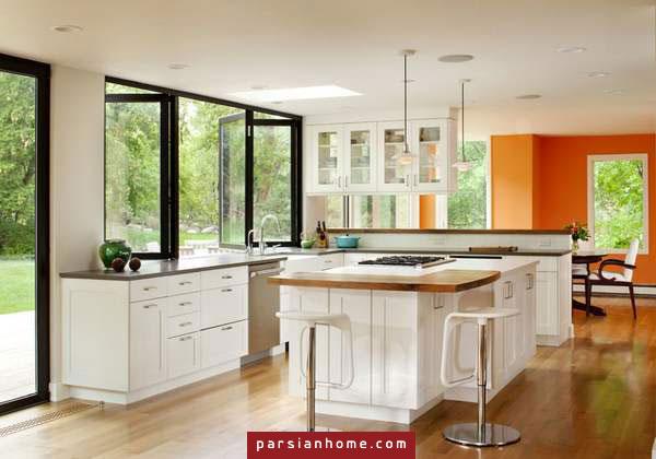 نتیجه تصویری برای دکوراسیون داخلی آشپزخانه