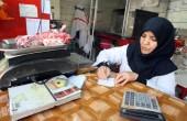 اولین زن قصاب ایرانی / عکس