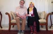 زهرا اشراقی (نوه امام):هایده و مهستی اعجوبه موسیقی ایران هستند/عکس
