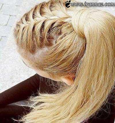 زیباترین بافت موی دخترانه سری جدید عکس 183 جدید 98 گهر