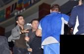 رفتار بی ادبانه ملیپوش ایران در باکو