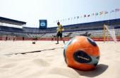 پیروزی تیم ملی فوتبال ساحلی ایران برابر روسیه