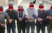 خانه ی فساد در تبریز و دستگیری افراد آن / عکس