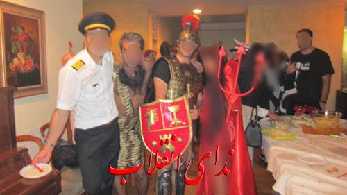 image007 عکس های جنجالی پارتی هالووین در تهران