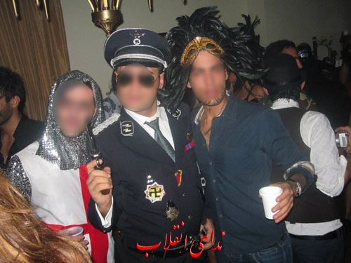 image046 عکس های جنجالی پارتی هالووین در تهران