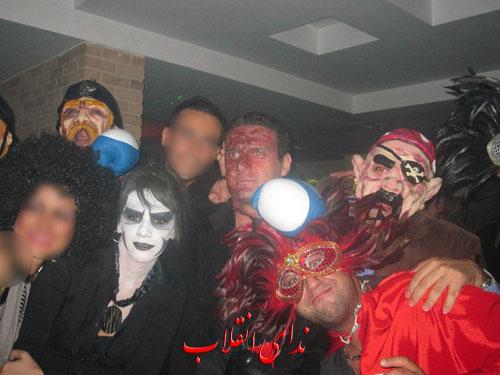 image069 عکس های جنجالی پارتی هالووین در تهران