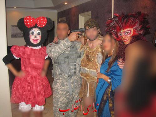 image086 عکس های جنجالی پارتی هالووین در تهران