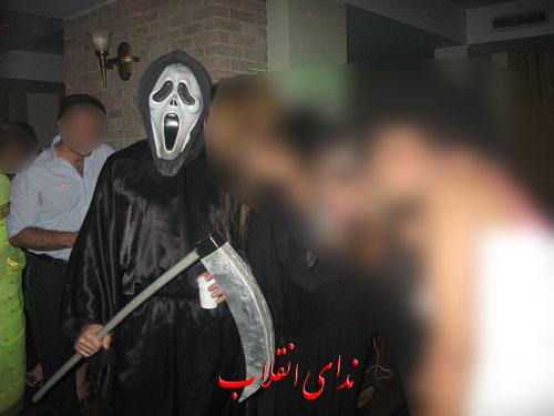 image098 عکس های جنجالی پارتی هالووین در تهران