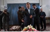 پشتصحنه گفتوگوی زنده احمدینژاد/عکس