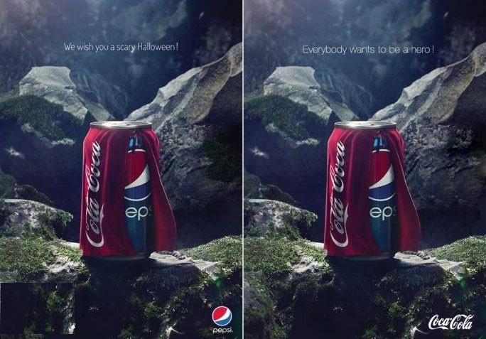 کل کل جالب پپسی و کوکاکولا / عکس, جدید 1400 -گهر