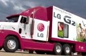 کامیون دزدیده شده ال جی پیدا شد