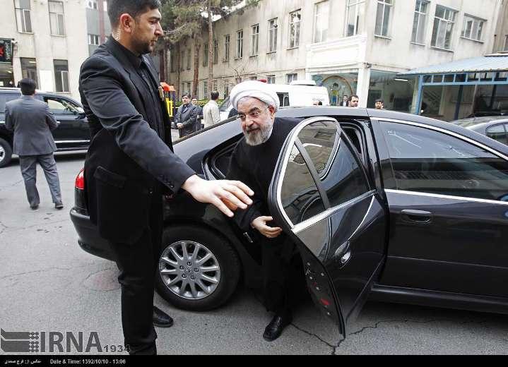 ماشین دکتر روحانی / عکس, جدید 1400 -گهر