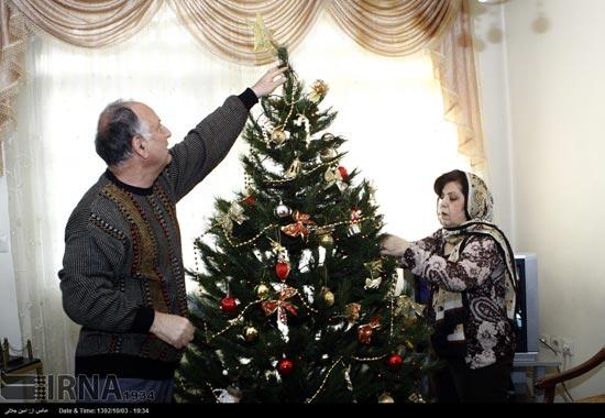 233491 626 حال و هوای جشن کریسمس 2014 در ایران / عکس