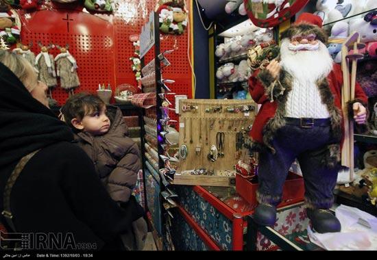 233494 738 حال و هوای جشن کریسمس 2014 در ایران / عکس