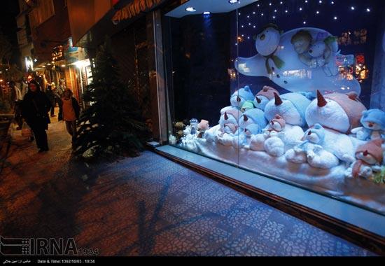 233497 934 حال و هوای جشن کریسمس 2014 در ایران / عکس
