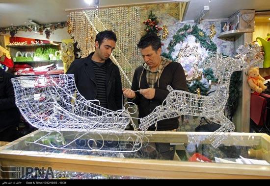 233501 151 حال و هوای جشن کریسمس 2014 در ایران / عکس