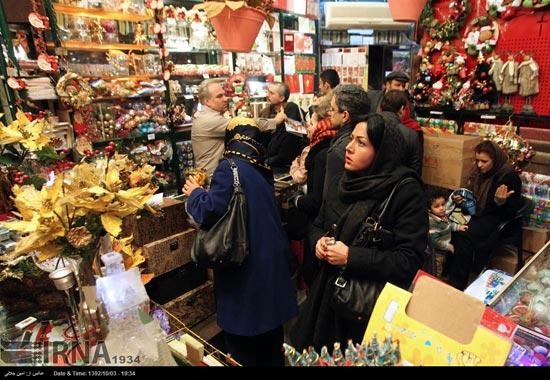 233503 697 حال و هوای جشن کریسمس 2014 در ایران / عکس