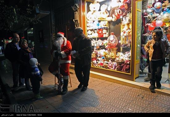 233504 857 حال و هوای جشن کریسمس 2014 در ایران / عکس